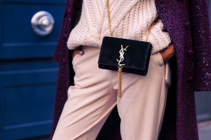 ysl monogram tassel bag | Bag Me Now | Pinterest | Fashion Blogs ...