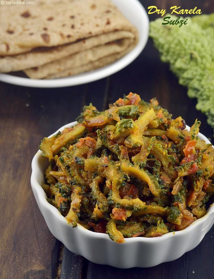 Dry Karela Subzi Different Must Try