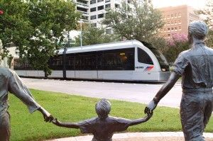Metro Rail to the Rodeo, Medical Center, Hermann Park, downtown, Theater, University of Houston Downtown, museum district.