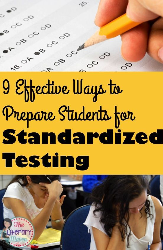 ways that students prepare for exams Top 5 ways to prepare students for standardized  i prepare my students on test day by doing lots of pre-test stretching and showing them ways.