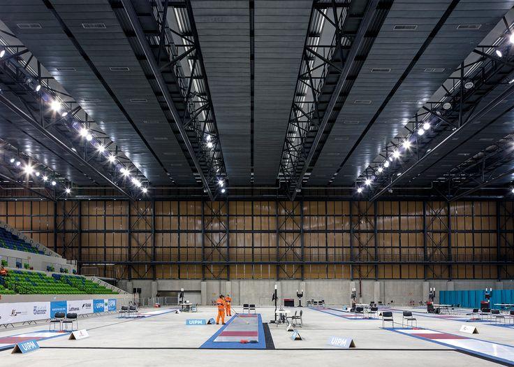 Arena da Juventude, Deodoro Olympic Park, by Vigliecca & Associados