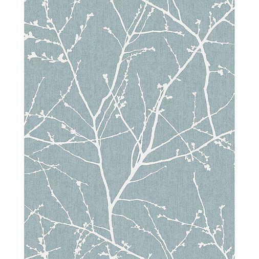 Tesco direct: Superfresco Easy Paste The Wall Innocence Duck Egg Metallic Wallpaper