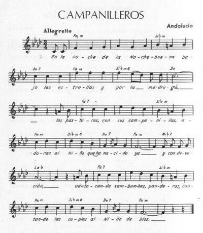 Partitura para flauta Campanillerosmnn