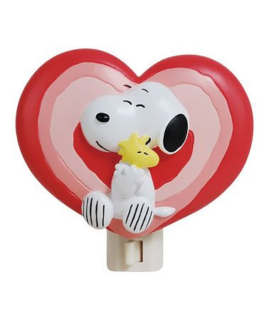 Snoopy and Woodstock night light - adorable kids' gift!