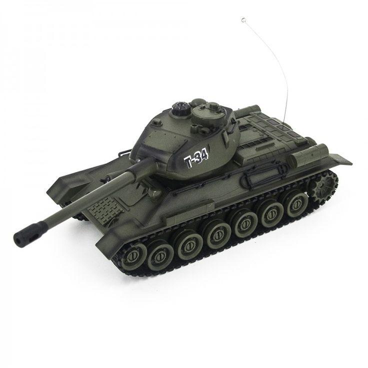 Радиоуправляемый танк Zegan Т-34 1:28 для танкового боя - 99809  http://hobbystart.ru/item.php?id=60744