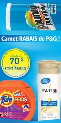 Nouveau carnet de coupons PG http://rienquedugratuit.ca/coupons/nouveau-carnet-de-coupons-pg/