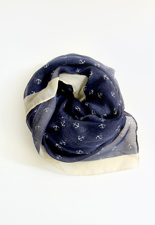 Stay Grounded Anchor Scarf My Style Pinterest Anchor