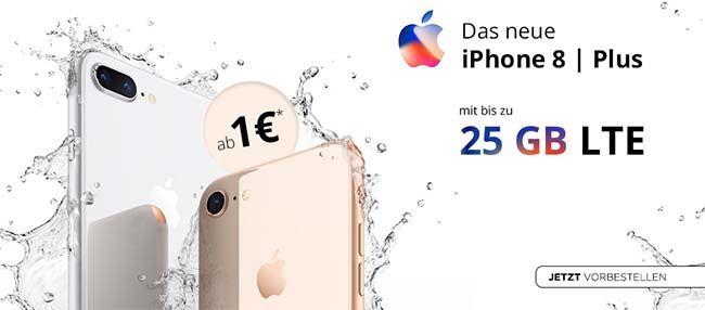 Apple Iphone 8 8 Plus Mit Vertrag Ab 1 Apple Iphone Iphone 8 Iphone