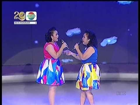Sarah feat Tere & Ocha feat Mama Sapna @ Konser Kemenangan Mamamia 2014