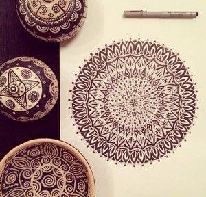 Мандалы, орнамент, роспись