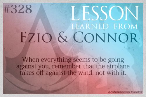 Lesson Learned from Assassin's Creed