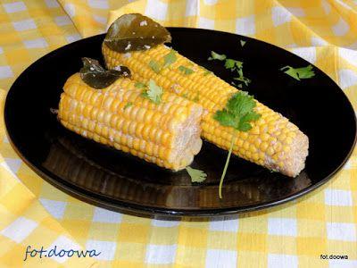 Moje Małe Czarowanie: Kukurydza gotowana w mleku kokosowym