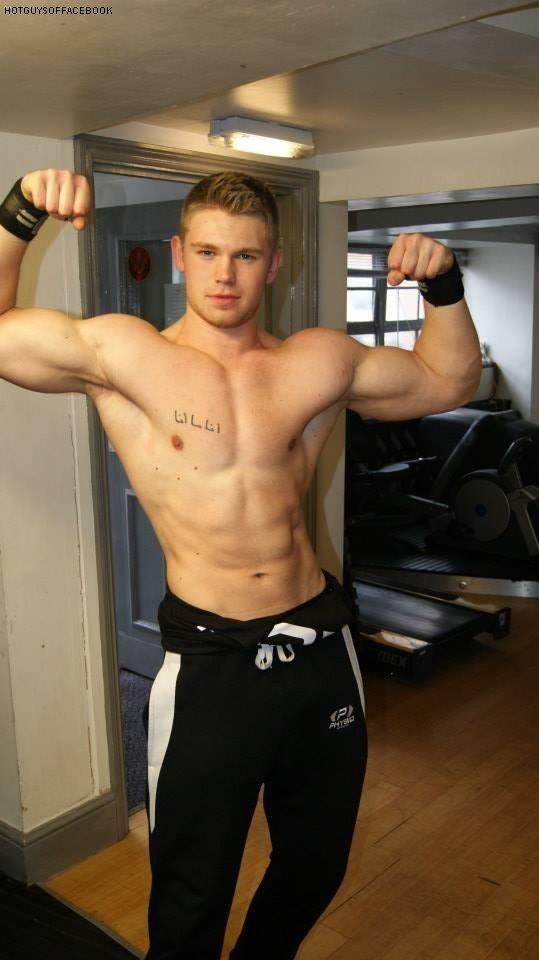 Cute muscle guys