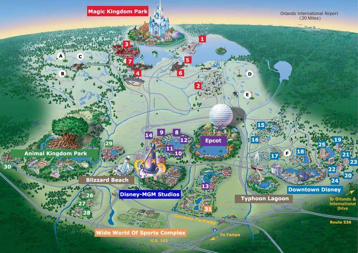 walt disney world   De paseo por Walt Disney World   Tour Mundial