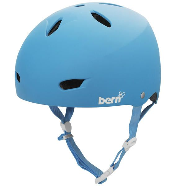 BERN BRIGHTON H20 HARD HAT WOMENS HELMET The Brighton Hard Hat H20 is a water sport crash hat that is great for all water sports - white water, kayaking, canoeing, wakeboarding, waterskiing, wake skating, kite boarding. This Crash Hat also works really well for Skate, Bike and street use and is a great hard hat for winter sports use. #snowboard #bike #skate #watersport #snowboardskatebikewatersporthelmets #bernbrightonh20hardhatwomens #colourcyan