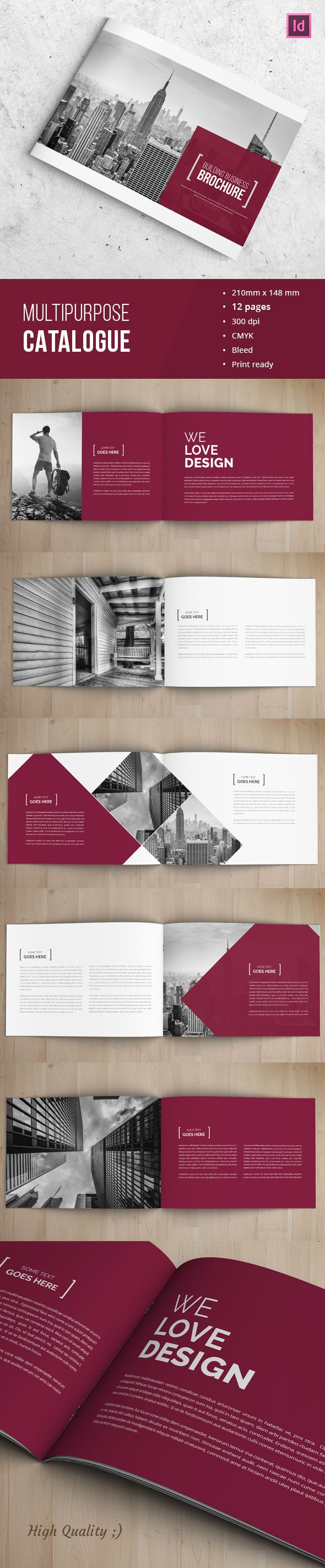 Corporate Indesign Brochure on Behance                                                                                                                                                      Más