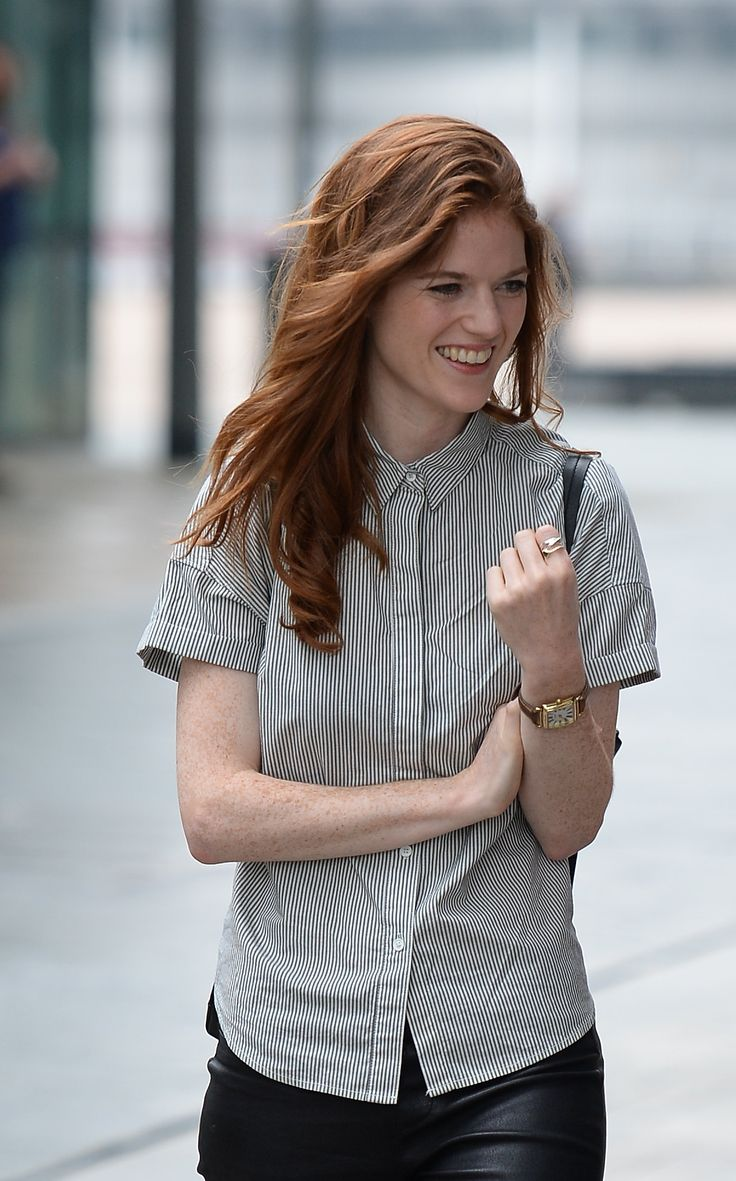 Rose Leslie leaving the BBC Studios