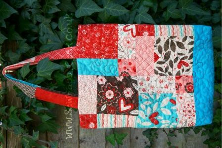 Disappearing 9 Patch Tote Bag Tutorial: Disappearing 9 Patch, Disappearing Nine Patch