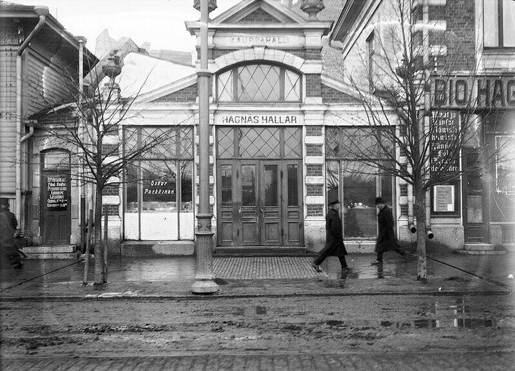Siltasaarenkatu Hakaniemen halli ja elokuvateatteri