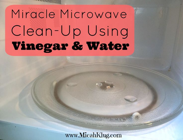 This miracle microwave clean-up using vinegar and water will work wonders for you in your kitchen! Don't waste another minute searching for any other way.