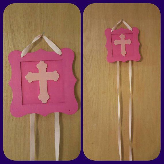 Bright Pink / Dark Pink Cross Bow Holder