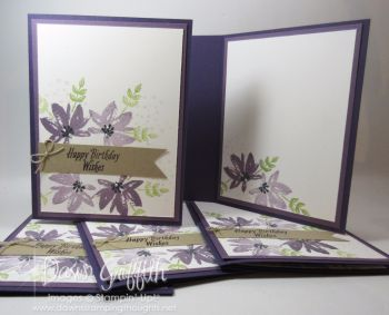 Avant Garden Birthday Wishes Card video | Dawn's Stamping Thoughts | Bloglovin'