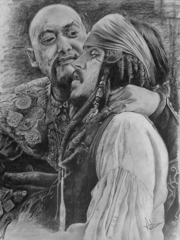 Sao Feng and Jack Sparrow by AATheOne.deviantart.com on @DeviantArt