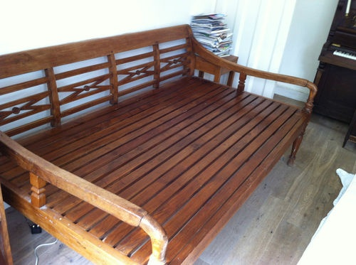 Antique Indonesian Daybed   eBay