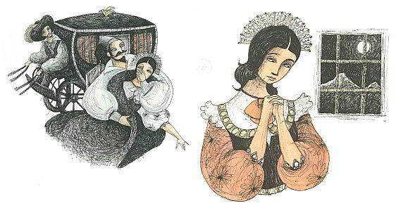 """Marco Lorenzetti illustration for """"I Promessi Sposi""""."""