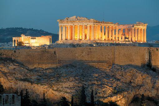 The Acropolis ... Athens, Greece