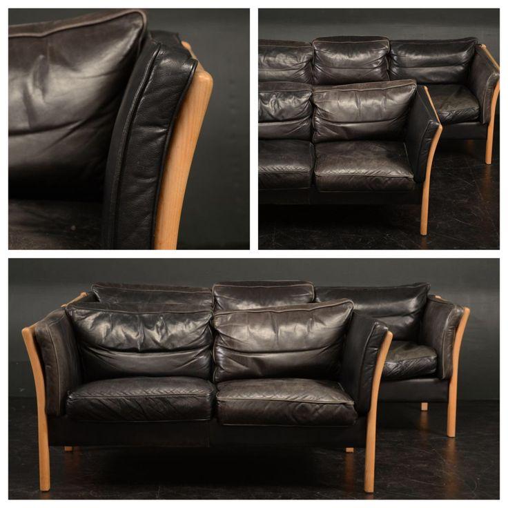 Danish leather sofas