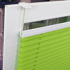 Klemmfix-Plissee 701 verspannt 6 Farben ohne bohren Jalousie Plissee Klemmträg