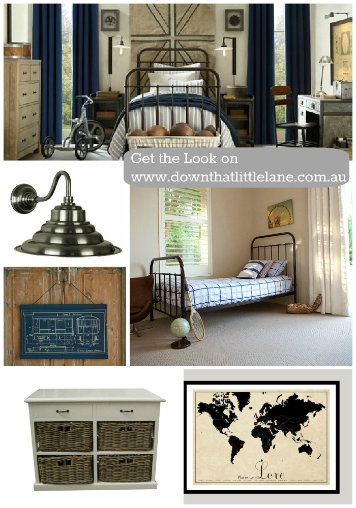 It the #Ralph Lauren #hamptons #classic kids bedroom all available on www.downthatlittlelane.com.au