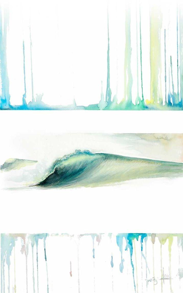 Heather Ritts - surf art