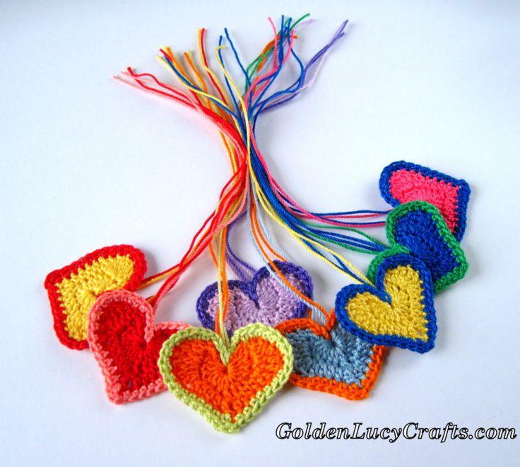 Бесплатные рисунки для вязания крючком на День Св. Валентина