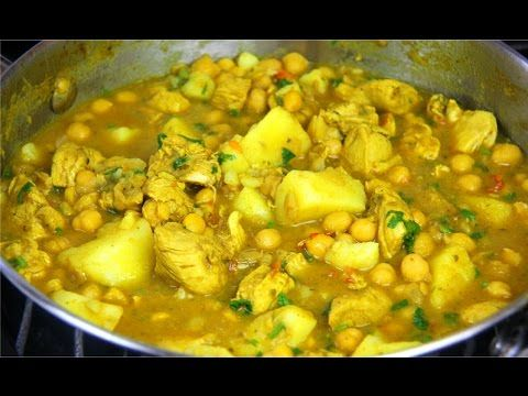 Here's a quick recipe for curry chicken with tender chickpeas and potato, done by Caribbean cookbook author Chris De La Rosa. we'll start off by marinating c...