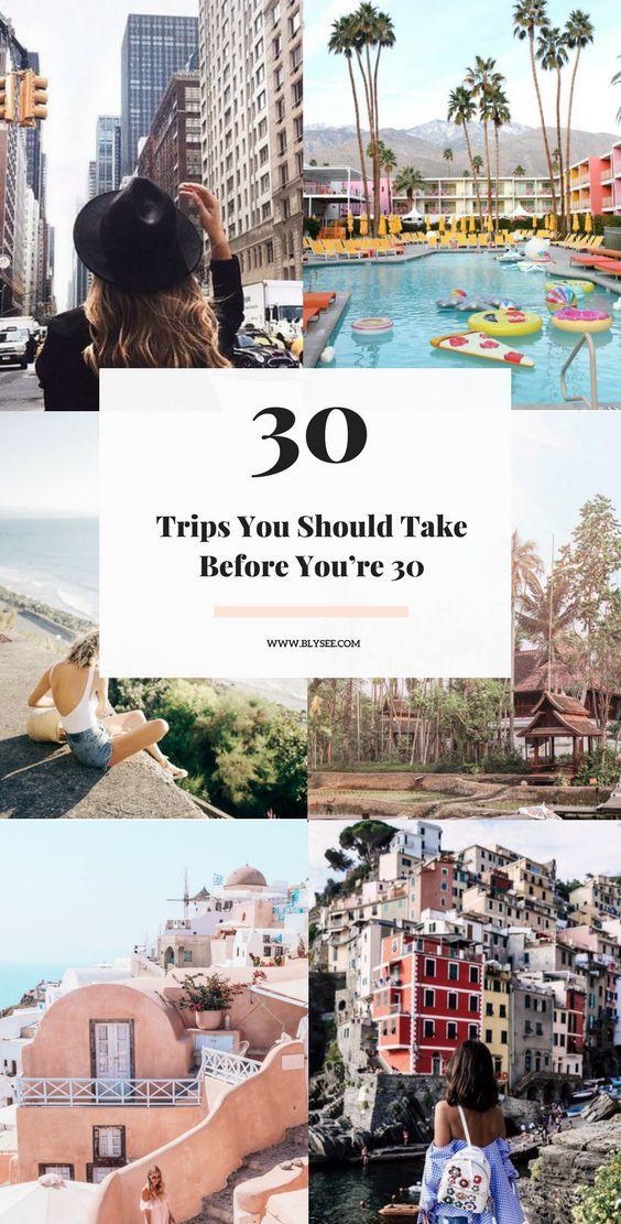 awesome trip ideas