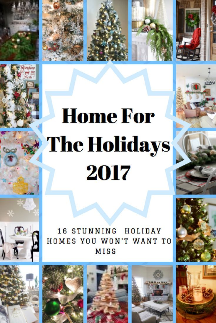 Christmas home tour with 16 talented home decor bloggers   Best of ...