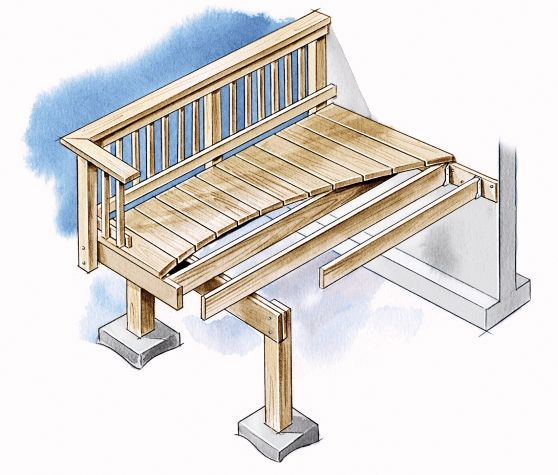 how to build a deck this old house