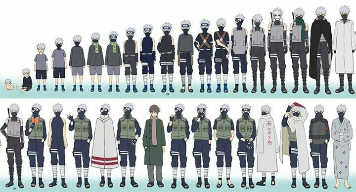 The elevation og kakashi.