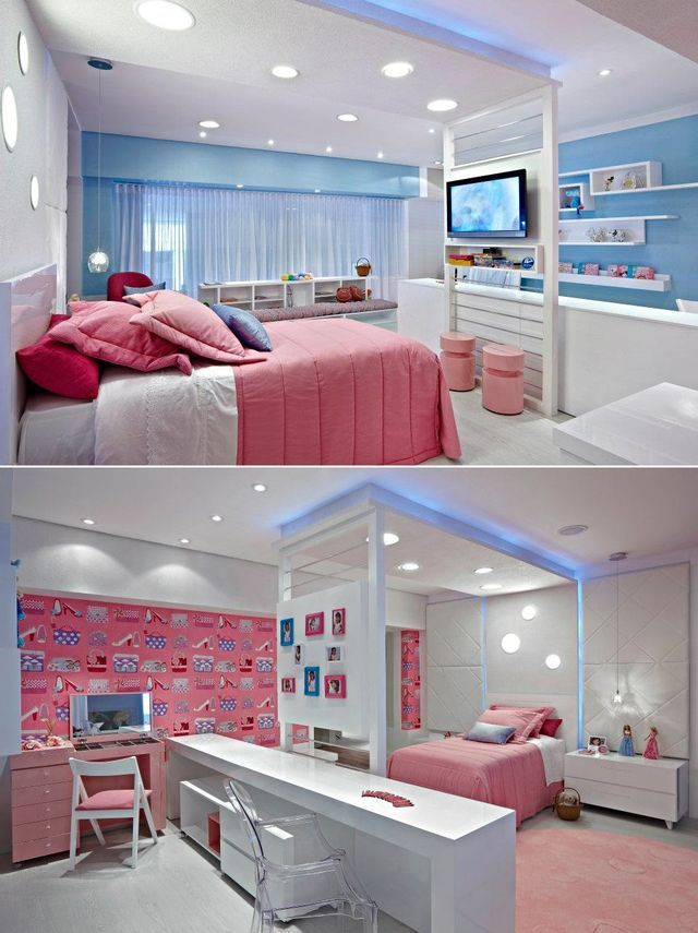 1000+ images about chambre d ado fille on Pinterest Pastel, Bed ...