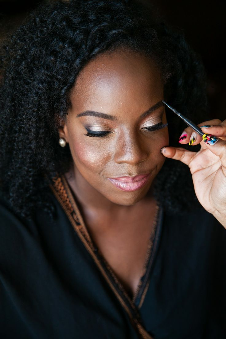 Bridal Makeup For Women Of Color Can Still Look Natural