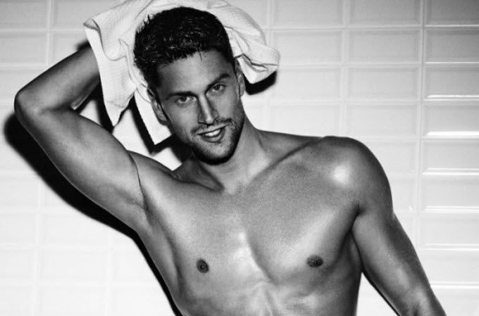Luca Dotto #athlete #swimmer #Armani #testimonial