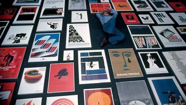 """Saul Bass - amazing graphic artist.  So picking up the book on him - """"A Life in Film & Design""""...  Take your coffee table to another level."""