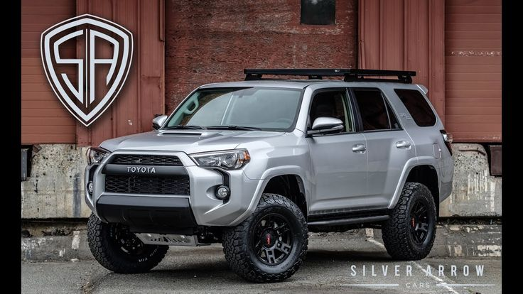"""Purchase a rear seat for. Custom 2018 Toyota 4Runner TRD Off Road 3"""" ToyTec Lift"""