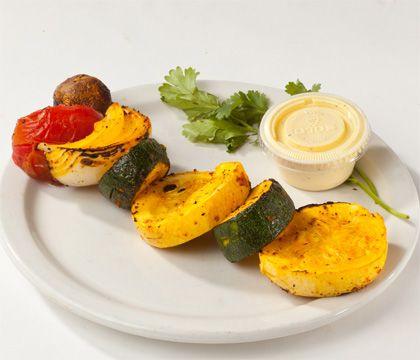 Grilled Vegetable Side Orders - Healthy Food - Rice House of Kabob Restaurants