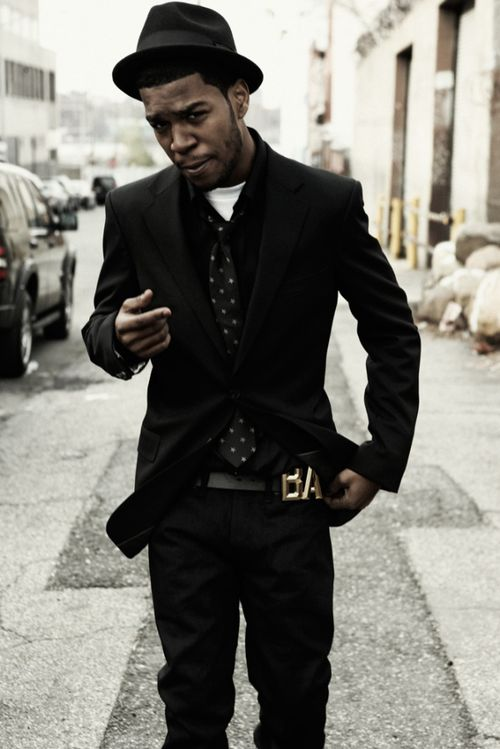 """Kid Cudi. He is my inspiration for the way I dress. I remember whenever I picked up his first ever mixtape """"A Kid Named Cudi""""."""