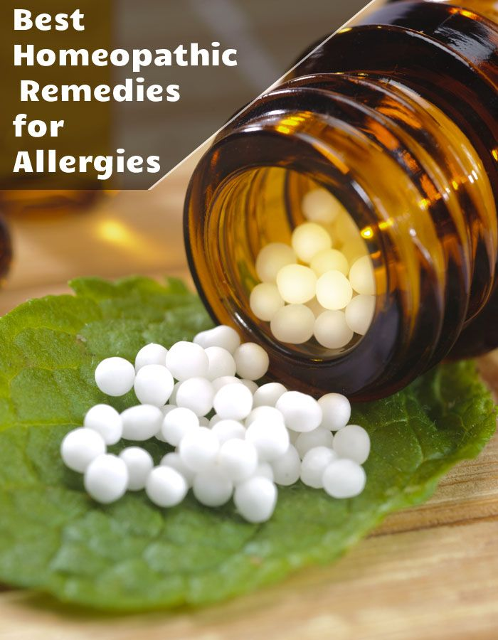 Best Homeopathic Remedies for Allergies