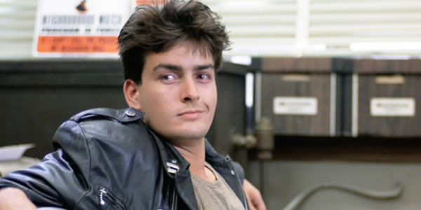 "Charle Sheen in ""Ferris Bueller's Day Off""."