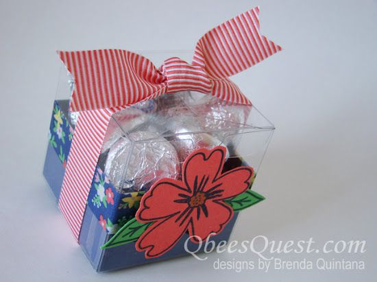 Qbee's Quest: Affectionately Yours Tiny Treat Box  Clear Tiny Treat Boxes  [141699] , Affectionately Yours Designer Washi Tape [141635] , Love & Affection Photopolymer Stamp Set [141545]